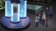 Orochimaru explicando (Anime)