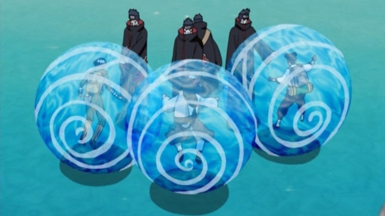 water prison technique narutopedia fandom powered by wikia