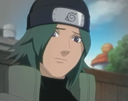 Aoi como ninja de Konoha