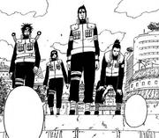Asuma e sua equipe