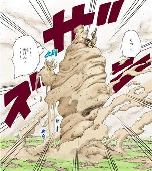 Ataúd de Atadura de Arena Manga