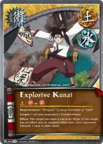 Kunai Explosivo FotS