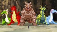 Kuroma with the five Genryu