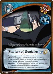 Maestros de Genjutsu FotS