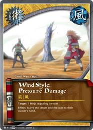 Wind Style: Pressure Damage