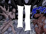 Gyuki ataca Gedo Mazo (Colorido)