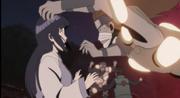 Hinata se assusta com a Argila Explosiva