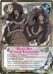 Hormiga Negra, Cuervo y Salamandra FotS