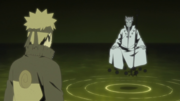 Naruto e Hagoromo se encontram
