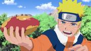 Naruto entrenado para dominar el Rasengan
