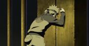 Naruto frustrado por no poder acabar con Pain