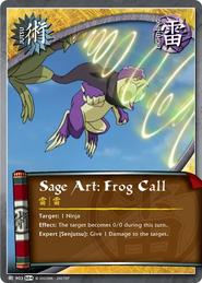 Sage Art: Frog Call
