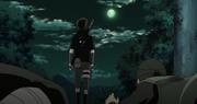 Sasuke se marcha de la Aldea