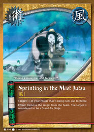 Sprinting in the Mist Jutsu