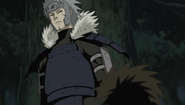 Tobirama aponta Hiruzen como Hokage
