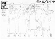 Arte Pierrot - Hagoromo adulto