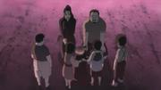 Dokku y Shiseru le dicen adios a los niños