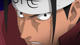 Hashirama's intimidating demeanour