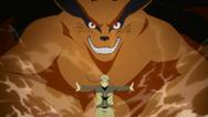 Kurama e Naruto partem para a batalha