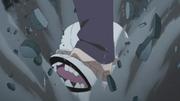 La Criatura de Shin es acabada por Sarada