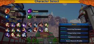 Naruto To Boruto Shinobi Striker - Selección de personajes