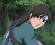 Shibuki com seu uniforme