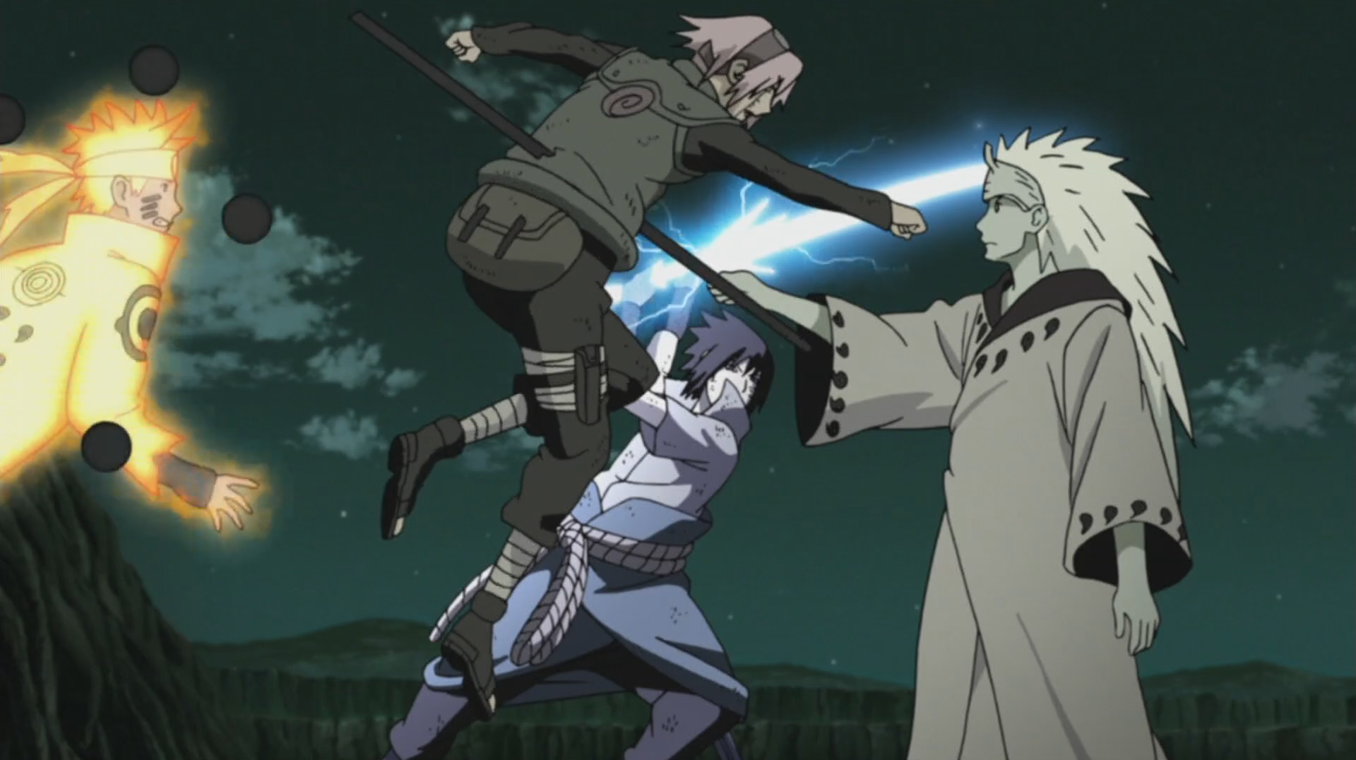 Image Team 7 Vs Madara Narutopedia Fandom Powered By Wikia Naruto Figure