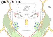 Arte Pierrot - Naruto (vs Obito)