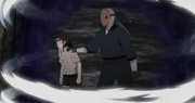 El Enmascarado detiene a Neji