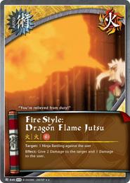 Elemento Fuego Jutsu Dragón de Fuego WoW