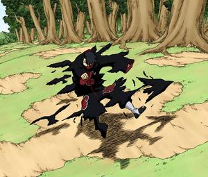 Jutsu Clon de Cuervos Manga