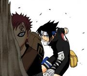 Movimento em Alta Velocidade Colorido (Sasuke)