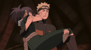 Naruto lifts Guren