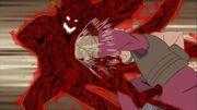 Elemento Tierra Jutsu Puño de Roca Anime