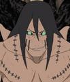 Kakuzu resucitado por la Invocación Reencarnación del Mundo Impuro