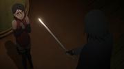 Sarada encontra Sasuke
