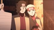 Demonstração de afeto entre Buntan e Shizuma