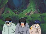 Team 8 hides from gaara
