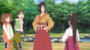 Tsubaki y el Equipo 15