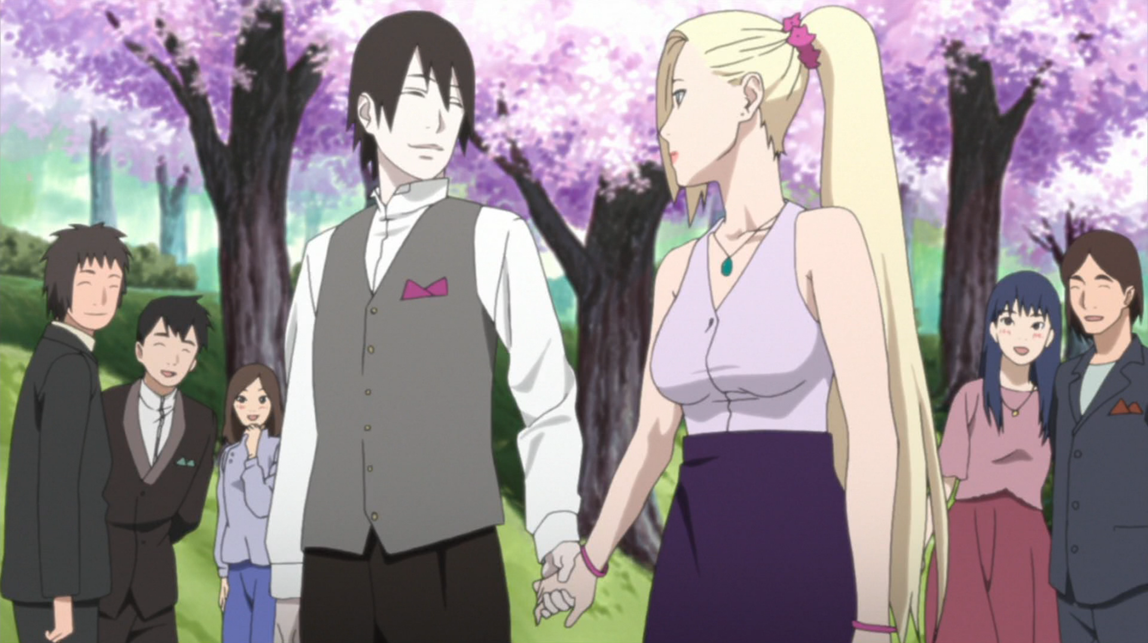 Sai narutopedia fandom powered by wikia sai attending narutos wedding with ino voltagebd Images
