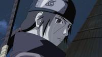 Itachi crying