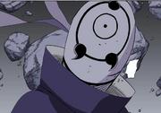 Máscara do Tobi rachada