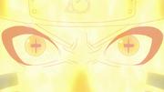 Naruto usando Sennin Modo junto com o Biju Modo (Anime)
