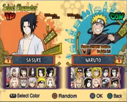 Personajes naruto ultimateninja5 D2