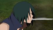 Suika expele teia de sua própria boca