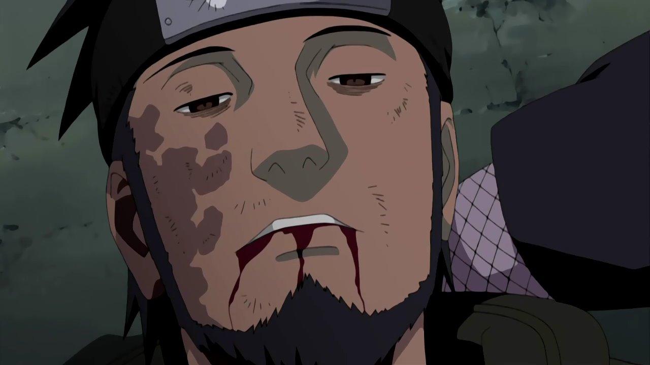 Resultado de imagen para La muerte de Asuma Sensei