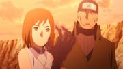 Enko lamenta seu braço com Ibiki