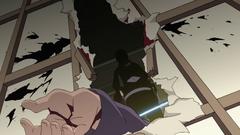 Itachi Uchiha matando a los miembros de su clan
