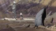 Kakashi y Sakura ante Naruto HD