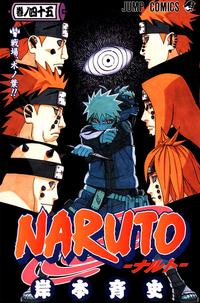Naruto Volumen 45